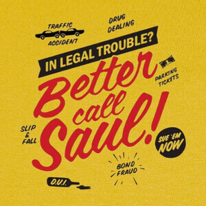 Camisetas BETTER CALL SAUL