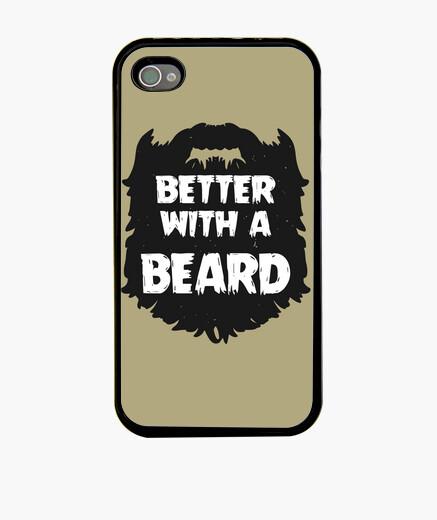 Funda iPhone Better with a beard - iPhone 4