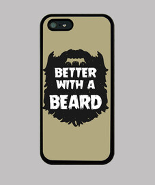 Better with a beard - iPhone 5