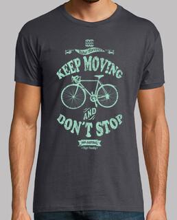Beweg dich und nicht aufhören