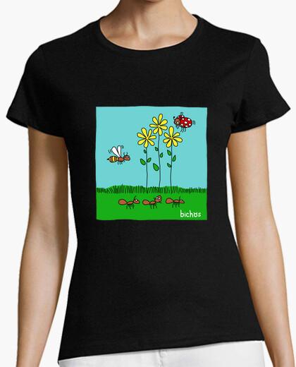 Camiseta bichos  2 joven