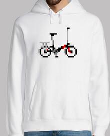 bici grande pixel art