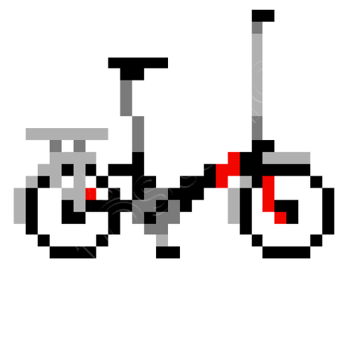 Pixel Art Bike Iphone Cases Tostadoracom