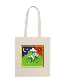 bicicleta 2ooo-saco