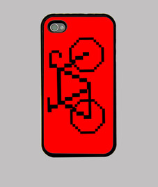 Bicicleta 8 bits (funda iPhone)