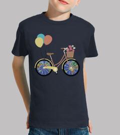 Bicicleta / Bici / Globos / Mapa mundi