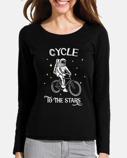 bicicleta ciclista astronauta
