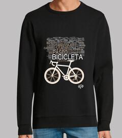 bicycle, cloud of sensations