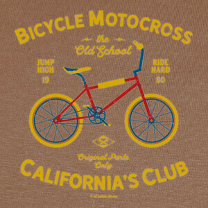 Camisetas Bicycle Motocross California