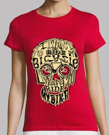 Bicycle race skull !!!