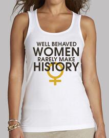 bien comportés women font rarement l'histoire