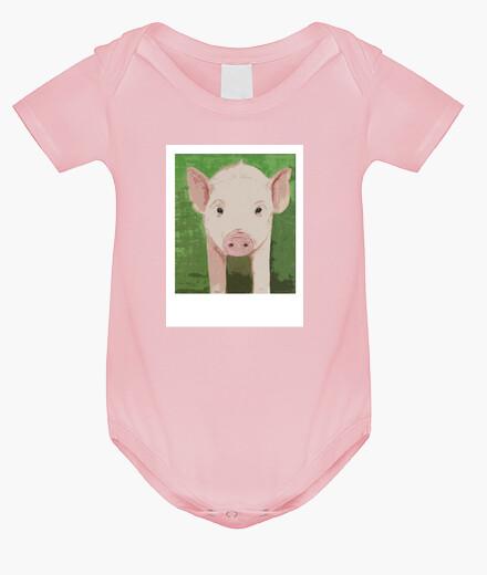 Ropa infantil Bienestar animal de cerditos baby