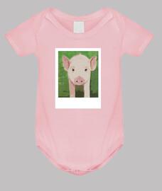 Bienestar animal de cerditos baby