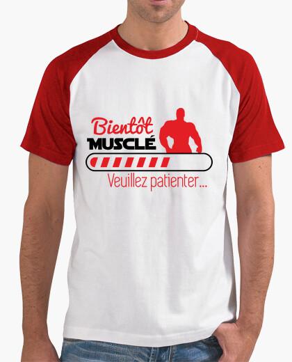 Tee-shirt Bientôt musclé - musculation