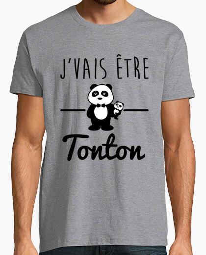 Tee-shirt Bientôt tonton,futur oncle