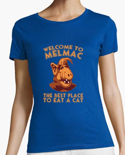 Camiseta bienvenido a melmac alf