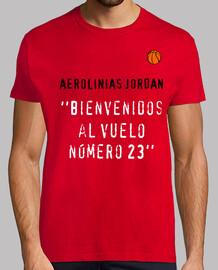 BIENVENIDOS AL VUELO 23 DE AEROLINIAS JORDAN