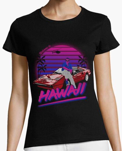 Tee-shirt bienvenue à hawaii