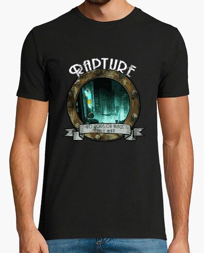 Tee-shirt bienvenue à rapture (blanc)
