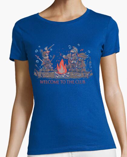 Tee-shirt bienvenue au club - shirt femme