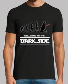 Bienvenue dans le côté obscur (silhouette)