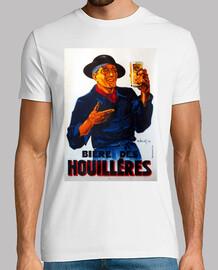 Bière des Houilléres, vintage poster