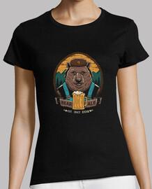 bière et chemise d'ours