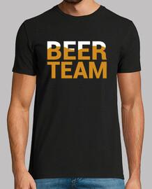bière, homme court