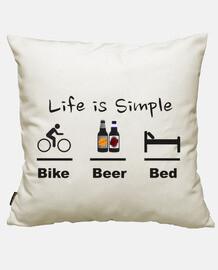 bière lit de vélo