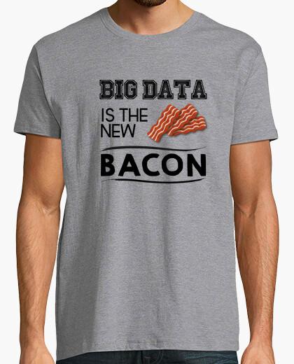 Tee-shirt Big Data est le nouveau bacon