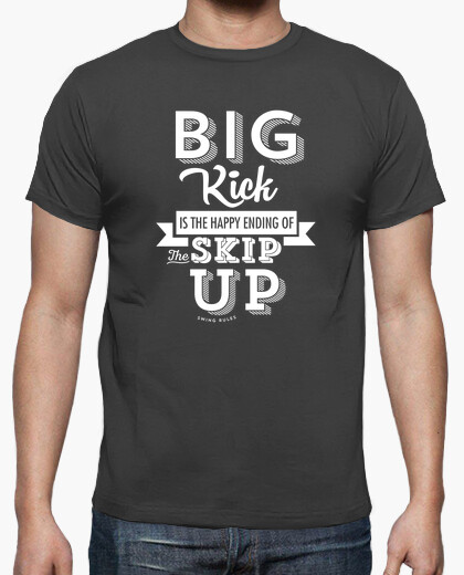 Camiseta BIG KICK HAPPY ENDING - WHITE