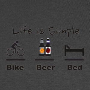 Bike Beer Bed T-shirts