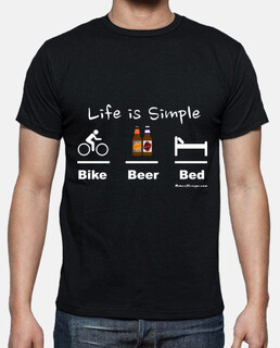 Bike Beer Bed white