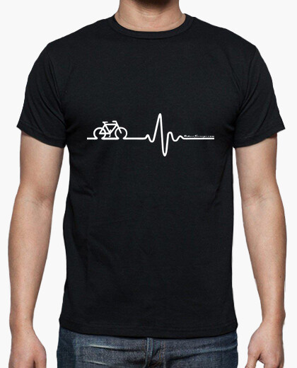 Bike cardio white t-shirt