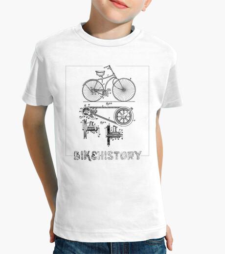 Ropa infantil Bike history