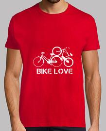 Bike Love blanc