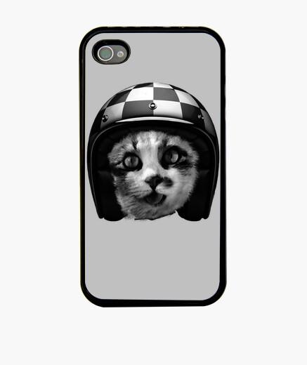 Coque iPhone Biker cat