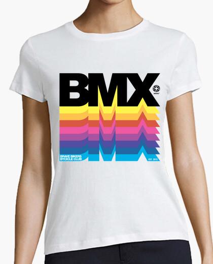 T-shirt biker coraggiosi bmx neri