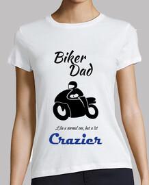 Biker Dad Black Papá Motero en negro