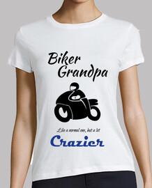 Biker Grandpa Black Abuelo Motero en ne