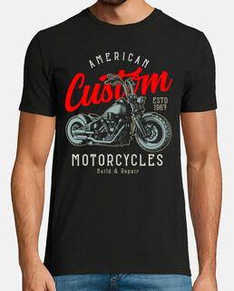 Bikers 1967 Retro Custom Motor Motorcycles Rockers Motos Moteros