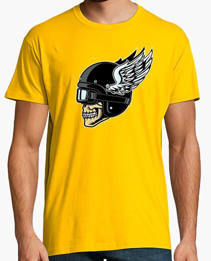 Camiseta bikers club skull 2