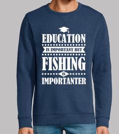 Bildung ist wichtig aber Angeln ist im