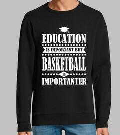Bildung ist wichtig aber Basketball ist