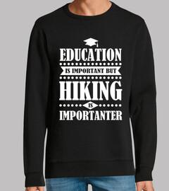 Bildung ist wichtig aber Wandern