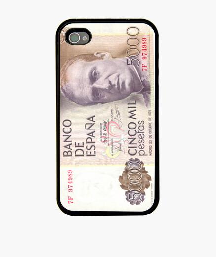 Funda iPhone Billete 5000 Pelas