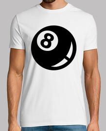 Billiards black eight 8 ball