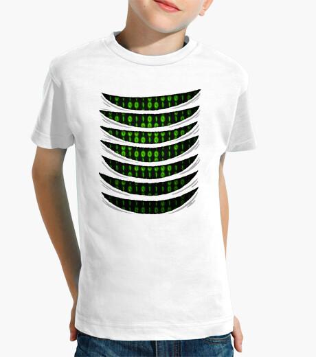 Ropa infantil Binary Code Inside