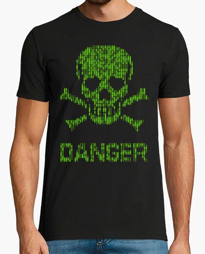 Camiseta Binary danger alert