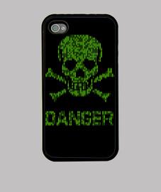 Binary danger alert